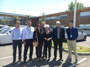 The ADS Toulouse team has visited the Gardner's facilities in Mazères